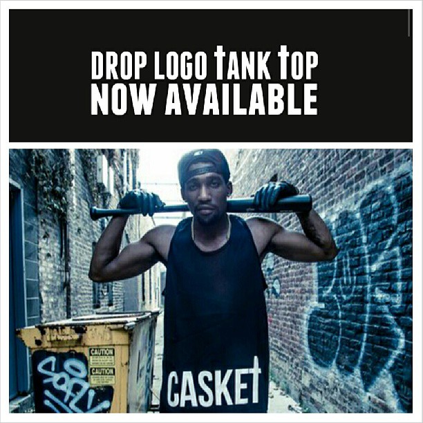 @Casket33ad #dropLogo #tanktop #nowavailable thecasketcollection.com