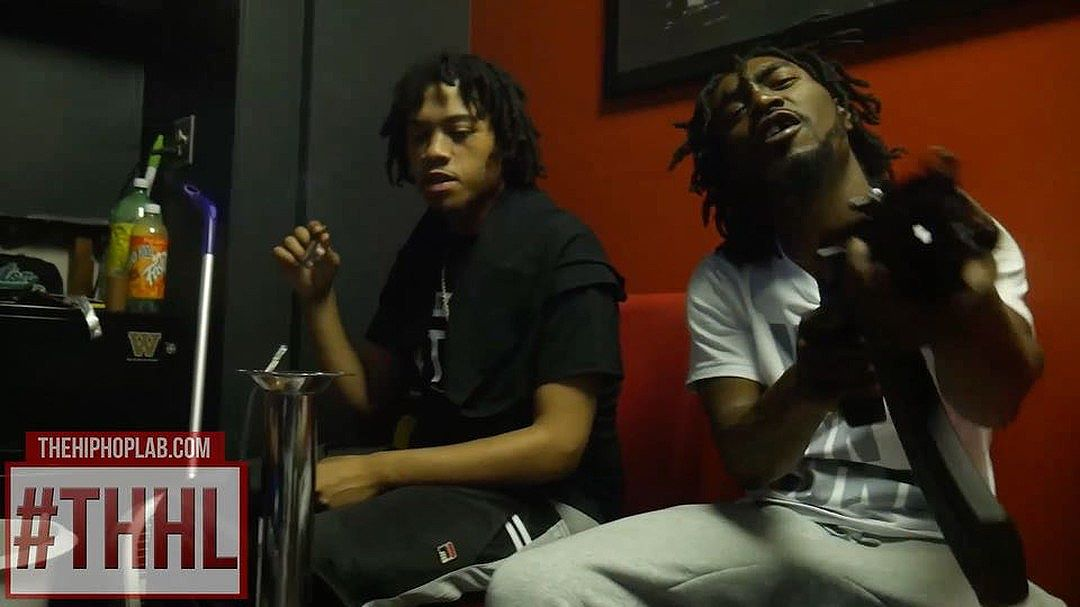 #THHLVlog @bglonnie4620 in the studio with @poohbeatz313 @iamstrathmo, @fmb_dz & @allstarlee out now on #THHLYoutube