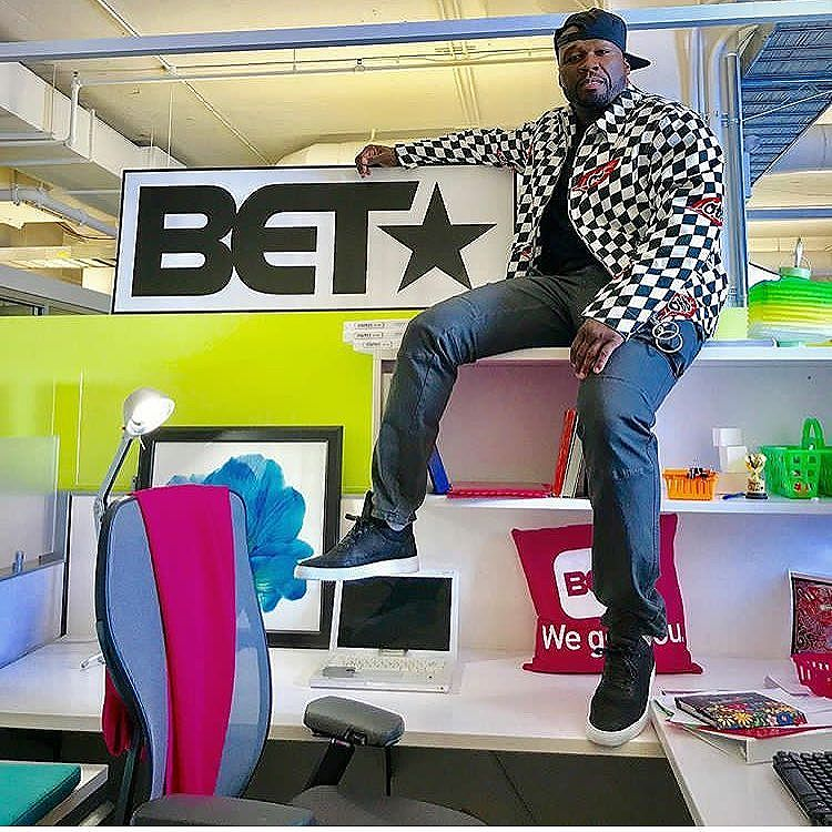 #50Cent allegedly taking over #BET will this help or hurt the network?