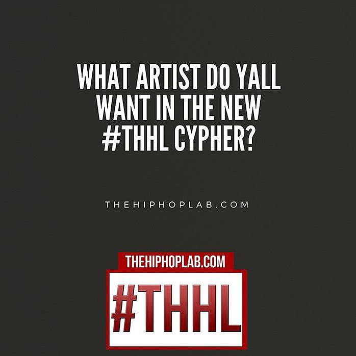 We are shooting the new cypher this Wednesday  we already have a few rappers in mind for it. Who do you wanna see? | Youtube.com/TheHipHopLab