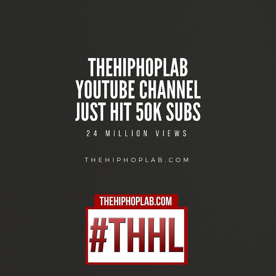 24 Million Views & 50K Subs later I'm still trying Showcase our city. YouTube.com/TheHipHopLab #Detroit #OneYear