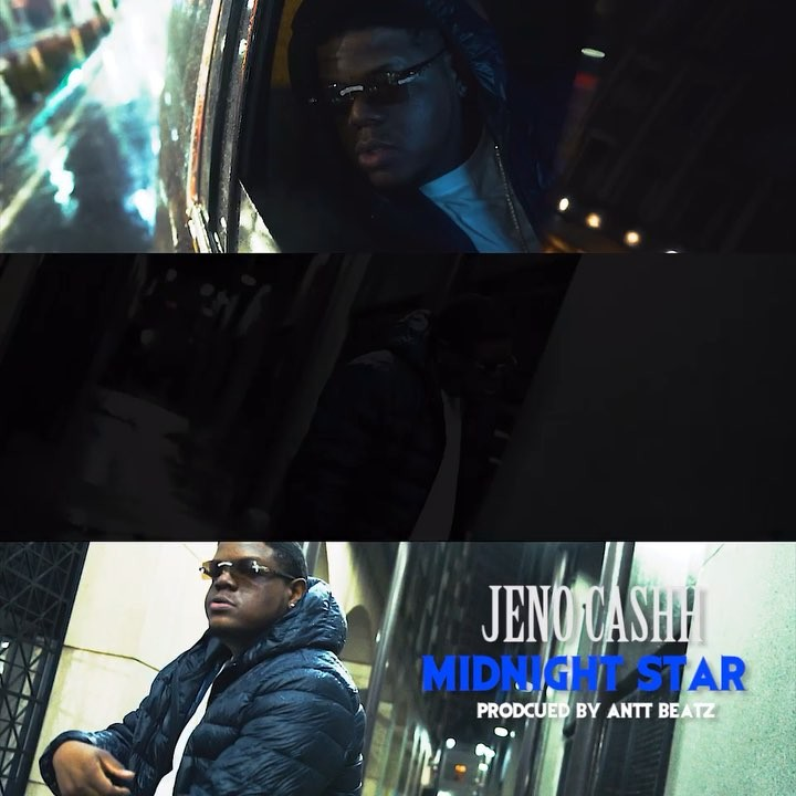 """@jenocashh new music video """"Midnight Star"""" Out now on @thehiphoplab YouTube channel. Shot by @directedbydiego prod by @anttbeatz #Touchent"""