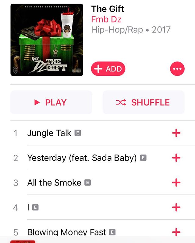 """New @fmb_dz """"The Gift"""" out now on @apple"""
