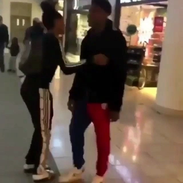 #NBAYoungBoy almost getting into a fight at #LenoxMall