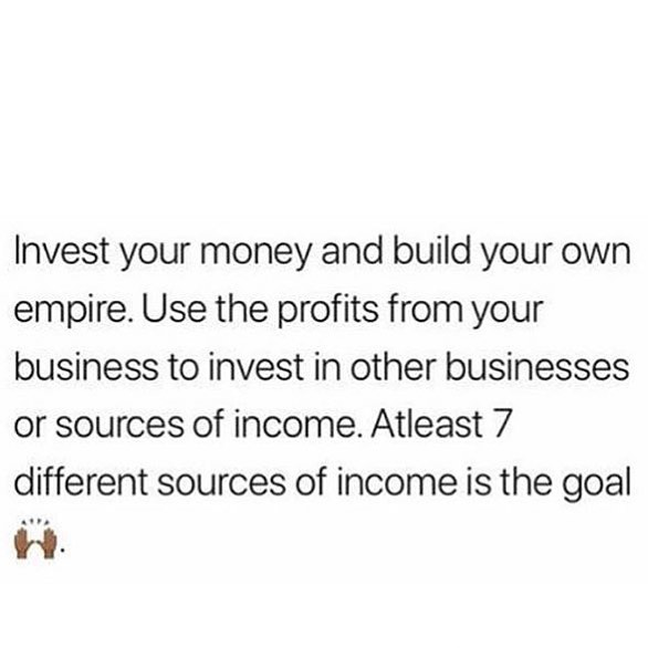 Make sure you Invest. Even if you got one income get six more.