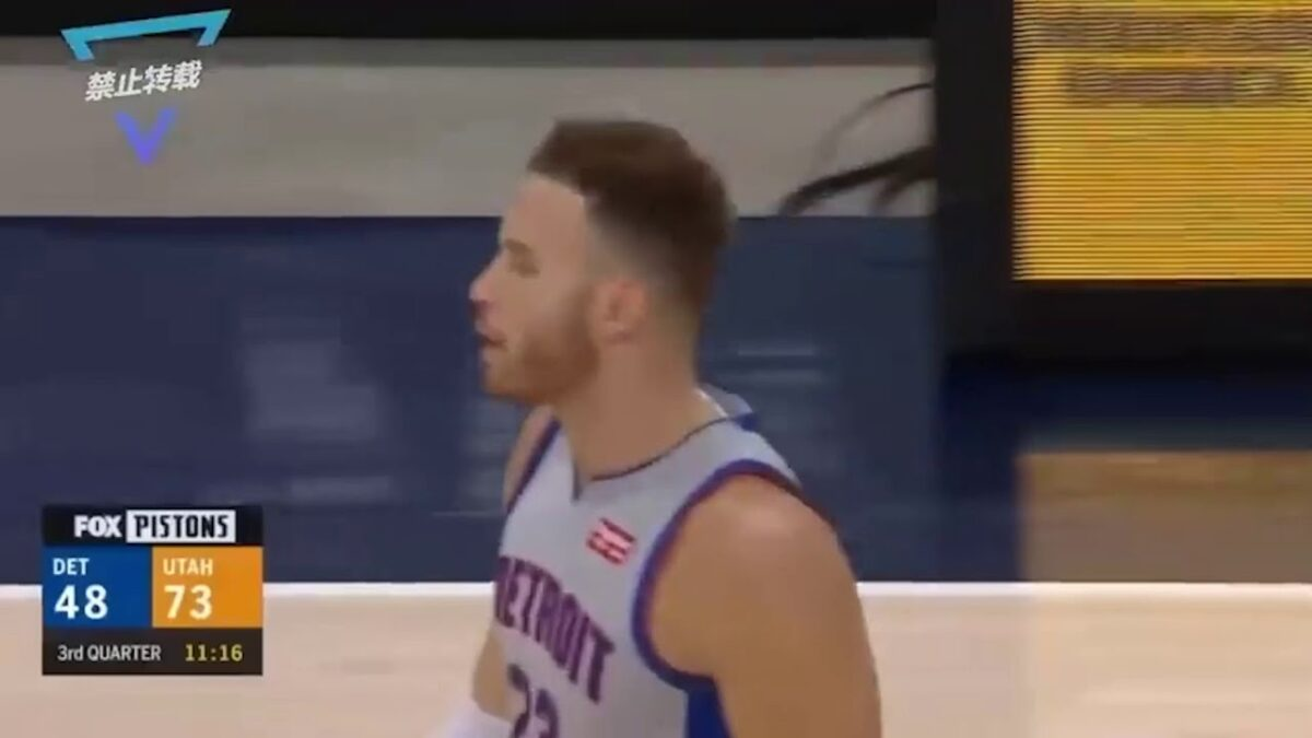 Blake-Griffen-Rips-Piston-Jersey-Off-After-Losing-amp-Being-Mad-WIth-Team